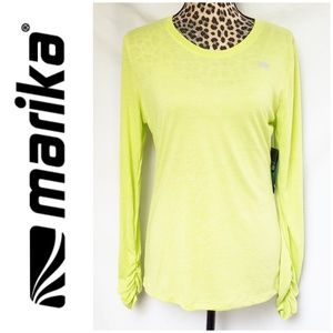 NWT Marika Tek Long Sleeve Athletic Wear